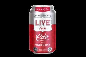 COLA WITH PROBIOTICS SODA