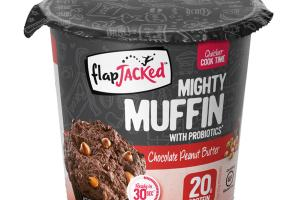 CHOCOLATE PEANUT BUTTER MIGHTY MUFFIN