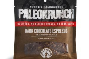 PALEOKRUNCH DARK CHOCOLATE ESPRESSO GRAINLESS GRANOLA BARS