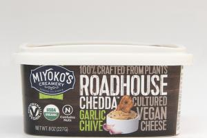 ROADHOUSE CHEDDA GARLIC CHIVE CULTURED VEGAN CHEESE