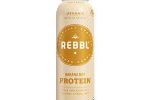 BANANA NUT ORGANIC PROTEIN SUPER HERB ELIXIR WITH TURMERIC & BRAZIL NUTS