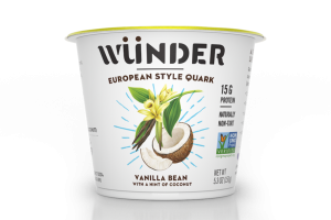 VANILLA BEAN WITH A HINT OF COCONUT EUROPEAN STYLE QUARK