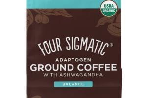 MEDIUM ROAST ASHWAGANDHA ADAPTOGEN GROUND COFFEE