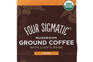 DARK ROAST LION'S MANE MUSHROOM ARABICA GROUND COFFEE