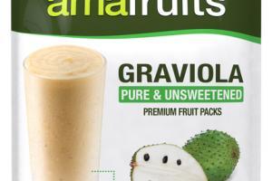 GRAVIOLA PURE & UNSWEETENED PREMIUM FRUIT PACKS