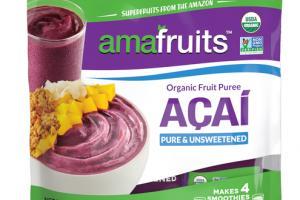 ACAI PURE & UNSWEETENED ORGANIC FRUIT PUREE