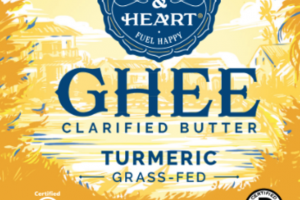 TURMERIC GRASS-FED GHEE CLARIFIED BUTTER