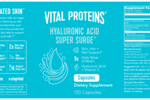 HYALURONIC ACID SUPER SURGE DIETARY SUPPLEMENT CAPSULES