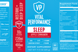 RESTORE + DEEP SLEEP DIETARY SUPPLEMENT APPLE CINNAMON