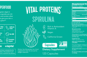 SPIRULINA DIETARY SUPPLEMENT CAPSULES