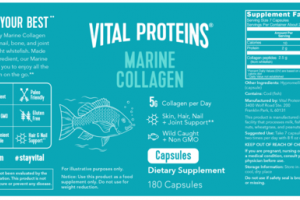 MARINE COLLAGEN SKIN, HAIR, NAIL + JOINT SUPPORT DIETARY SUPPLEMENT CAPSULES