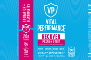 RECOVER HYDRATION + ELECTROLYTES DIETARY SUPPLEMENT PASSION FRUIT