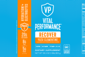 RECOVER HYDRATION** + ELECTROLYTES DIETARY SUPPLEMENT, YUZU CLEMENTINE