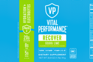 RECOVER HYDRATION + ELECTROLYTES DIETARY SUPPLEMENT GUAVA LIME