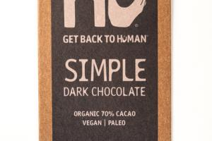 SIMPLE 70% CACAO DARK CHOCOLATE