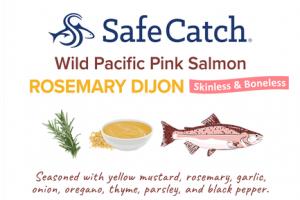 ROSEMARY DIJON WILD PACIFIC PINK SALMON