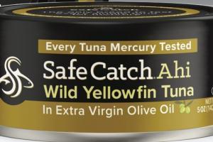 AHI WILD YELLOWFIN TUNA IN EXTRA VIRGIN OLIVE OIL