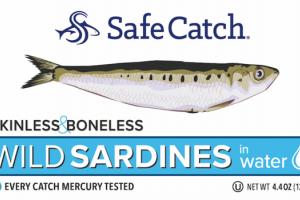 SKINLESS & BONELESS WILD SARDINES IN WATER