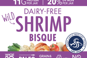 DAIRY-FREE WILD SHRIMP BISQUE