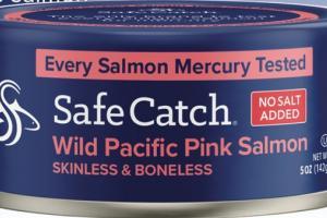 NO SALT ADDED WILD PACIFIC PINK SALMON