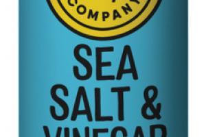 SEA SALT & VINEGAR POTATO CRISPS