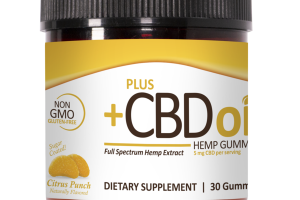 FULL SPECTRUM HEMP EXTRACT DIETARY SUPPLEMENT GUMMIES CITRUS PUNCH