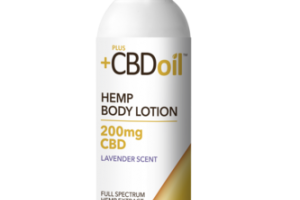 FULL SPECTRUM HEMP EXTRACT 200MG CBD BODY LOTION LAVENDER