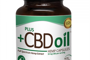 FULL SPECTRUM HEMP EXTRACT 10 MG CBD DIETARY SUPPLEMENT CAPSULES