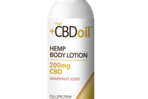 FULL SPECTRUM 200 MG CBD HEMP EXTRACT BODY LOTION GRAPEFRUIT