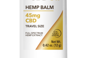 45MG CBD TRAVEL SIZE FULL SPECTRUM HEMP EXTRACT BALM