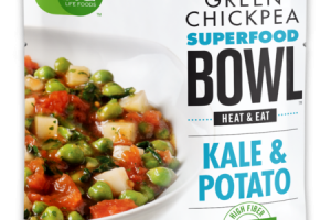 KALE & POTATO GREEN CHICKPEA SUPERFOOD BOWL