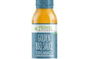 ORGANIC AND UNSWEETENED GOLDEN BBQ SAUCE