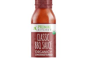 ORGANIC AND UNSWEETENED CLASSIC BBQ SAUCE