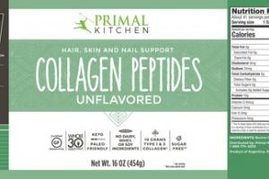 UNFLAVORED HAIR, SKIN AND NAIL SUPPORT COLLAGEN PEPTIDES