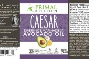 CAESAR AVOCADO OIL DRESSING & MARINADE