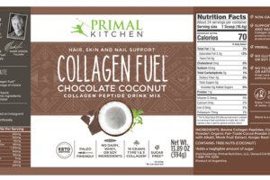 CHOCOLATE COCONUT COLLAGEN FUEL COLLAGEN PEPTIDE DRINK MIX