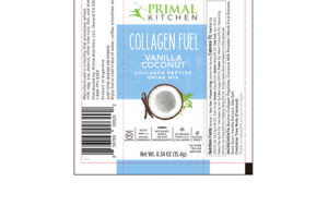 VANILLA COCONUT COLLAGEN PEPTIDE DRINK MIX