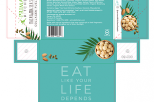 "MACADAMIA SEA SALT COLLAGEN FUEL"" BAR"