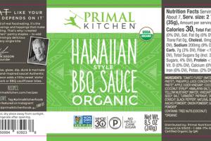 HAWAIIAN STYLE ORGANIC BBQ SAUCE