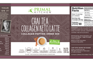 CHAI TEA COLLAGEN KETO LATTE PEPTIDE DRINK MIX