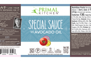 AVOCADO OIL SPECIAL SAUCE