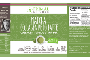 MATCHA COLLAGEN KETO LATTE COLLAGEN PEPTIDE DRINK MIX