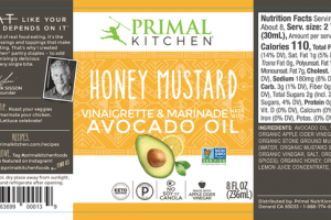 HONEY MUSTARD VINAIGRETTE & MARINADE AVOCADO OIL