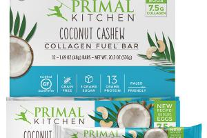 COCONUT CASHEW COLLAGEN FUEL BAR