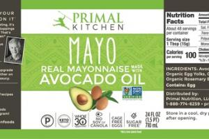 MAYO AVOCADO OIL REAL MAYONNAISE