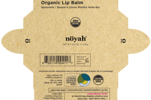 ORGANIC LIP BALM SPEARMINT