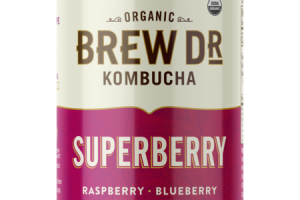 SUPERBERRY RAW & PROBIOTIC KOMBUCHA