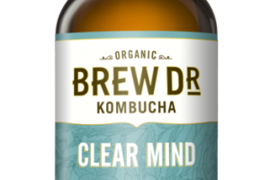 CLEAR MIND ROSEMARY MINT SAGE GREEN TEA KOMBUCHA