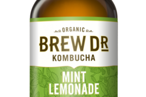 MINT LEMONADE LEMONGRASS SPEARMINT GREEN TEA KOMBUCHA
