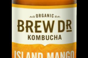 ISLAND MANGO, PASSIONFRUIT GREE TEA KOMBUCHA